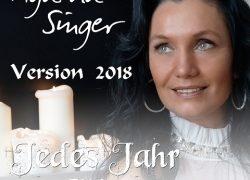 """Agatha Singer – """"JEDES JAHR ZUR WINTERZEIT"""" im Remix 2018"""