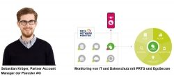 Paessler und EgoSecure: IT-Infrastruktur EU-DSGVO-konform aufstellen und überwachen