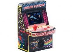 Mobile Games Technology Handlicher Retro-Videogame-Automat, 200 Spiele, LCD-Farb-Display, Akku