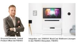 Yamaha und FIBARO kooperieren für Smart Home-Entertainment