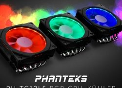 NEUHEIT bei Caseking – Kompakter PHANTEKS PH-TC12LS Top-Blow-Kühler mit eindrucksvoller…
