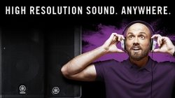"""High Resolution Sound. Anywhere"": Yamaha DBR oder DXR Aktivlautsprecher registrieren…"