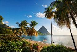 Mit Condor und LIAT in diesem Winter häufiger nach Saint Lucia