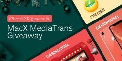 Weihnachtsuhr tickt: MacX iPhone Manager Freebie erhalten, iPhone XR gewinnen und Rabatt sichern