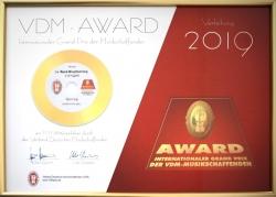 VDMplus bietet besondere Auszeichnung für Musikschaffende