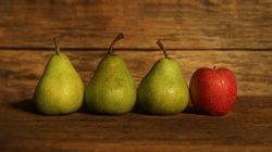 Äpfel oder Birnen?