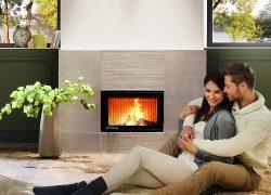 Kamin mit Speicher holt das Beste aus dem Feuer