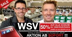 WSV bei schuhplus: 50% Rabatt auf Schuhe in Übergrößen