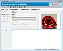 Software für Edelstein-Branche jetzt mehrplatzfähig