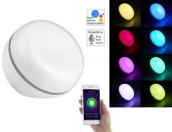 Luminea Home Control WLAN-LED-Stimmungsleuchte, 5 Watt