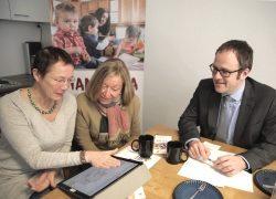 Mama Mia Erlangen – Stadtspitze besucht die neuen Räumlichkeiten