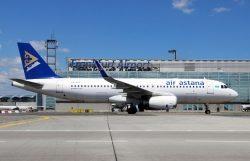 Air Astana: Neuer Handling Agent und verstärktes Team am Flughafen Frankfurt