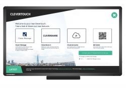 Clevertouch: 24-Stunden-Messaging und Digital Kiosk