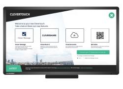 Clevertouch: 24-Stunden-Messaging und Digital Kiosk
