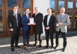 Stadt Auerbach wird zum Technologie-Pionier das erste intelligente Messsystem des…