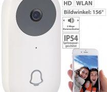Somikon WLAN-HD-Video-Türklingel VTK-220 mit App