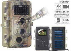 VisorTech Full-HD-Wildkamera WK-590 mit Nachtsicht