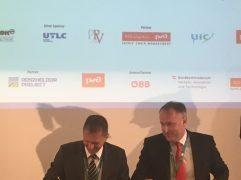 UTLC ERA und ZSSK Cargo bauen die Zusammenarbeit auf Seidenstraße aus