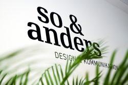 Corporate Design für Klein- und Mittelbetriebe von so & anders