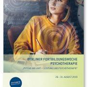 """7. Berliner Fortbildungswoche Psychotherapie """"Psyche am Limit – Leistung und…"""
