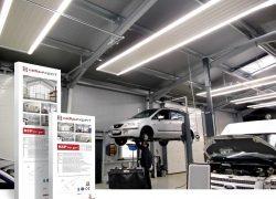 ISH 2019 – Produkt-Innovation: Deckenstrahlheizungen mit LED-Beleuchtung