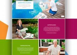 Maute – Besonders im Garten geht mit neugestalteter Webseite online