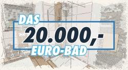Wasser+Werte präsentiert am 30. März das 20.000 Euro Bad