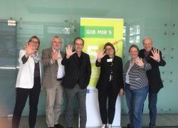 """Vorstand des 5 am Tag e.V. stellt sich neu auf und startet mit neuer EU-Kampagne """"Snack 5"""""""