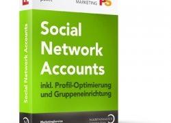 """Social Network Account """"Einstiegspaket"""" von Nabenhauer Consulting: Accounts vom professionellen…"""