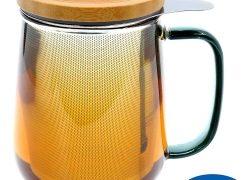 Teeglas – trendiger Teegenuss – jederzeit und überall