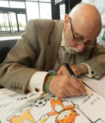 """""""Liebe ist…""""- Comic-Zeichner Bill Asprey entwirft besondere Sticker für das…"""