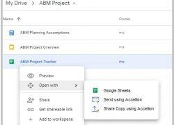Accellion revolutioniert Austausch vertraulicher Informationen zwischen GDrive und MS Office