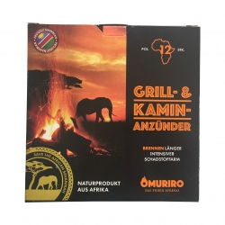 Omuriro – der nachhaltige Grill- und Kaminanzünder