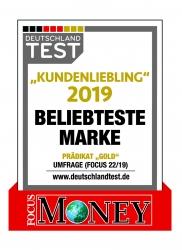 "Fingerhut Haus ist ""Kundenliebling 2019"": Prädikat GOLD in FOCUS MONEY-Umfrage…"