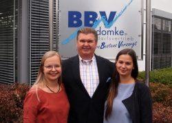 BBV-Domke übernimmt weitere Auszubildende