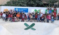 SOS-Kinderdörfer und skate-aid eröffnen gemeinsamen Skatepark im syrischen Damaskus