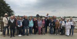 Schützen aus Hohenmoor besuchen Gut Aiderbichls 'Ballermann Ranch'