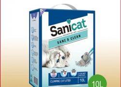 Katzenstreu klumpend mit Lavendelduft. Mit Clean Oxygen