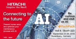 Hitachi auf der Fachpack 2019 – Live Demo KI, AR & Human Acitivity Recognition