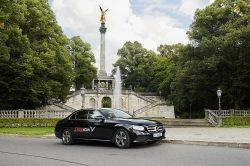 FREE NOW startet Mietwagen-Angebot mit Fahrern in München