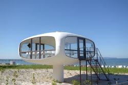 Die Leichtigkeit in Beton: Hypar, Kunst und mehr am Meer