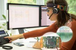 Fraunhofer IGD – Medica 2019: Ein Stirnband gegen Stress