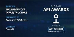 Parasoft erhält API Award für Microservices-Lösung