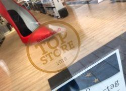 """Schuhplus erhält Auszeichnung """"Top-Store 2019"""" von TextilWirtschaft"""