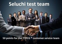 Höchste Punktzahl für das TTPCG ® Kundenservice Team