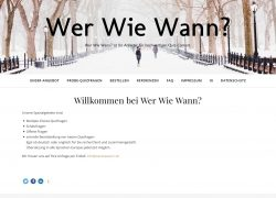 Relaunch Werwiewann.de mit Herbstangebot Quizfragen