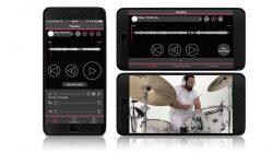 """Yamaha Rec""""n""""Share: Kostenlose App ermöglicht professionelle Schlagzeug-Videos mit Yamaha EAD10 und Yamaha DTX402"""