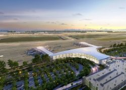 Eröffnung des Louis Armstrong New Orleans International Airport