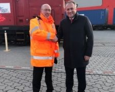 Neue Seidenstraße: UTLC ERA schickt ersten Zug aus China über Schiene und See nach Deutschland