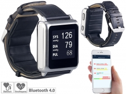 newgen medicals Med. E-Ink Blutdruck-Armbanduhr BPW-100